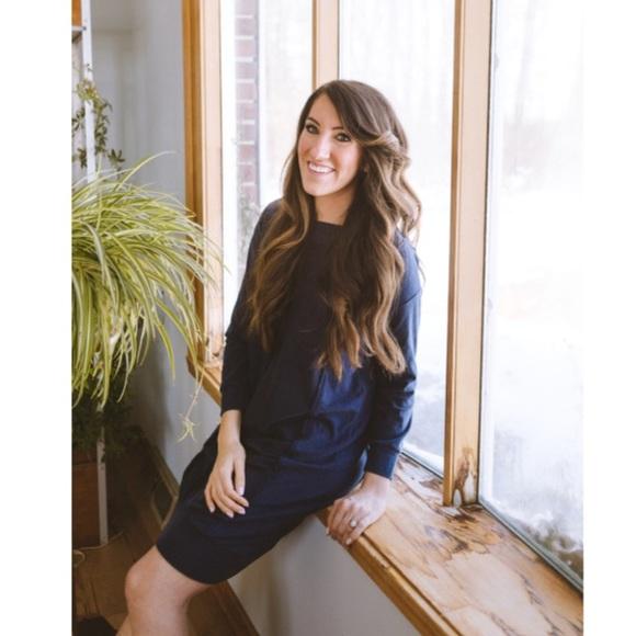 Liz Alig Dresses & Skirts - LAST ONE ☝️ Recycled ♻️ Cowl Neck Reed Dress